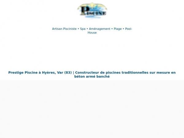 prestige-piscine.com