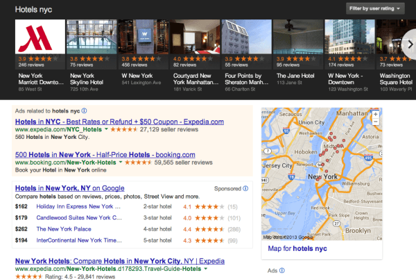 Hôtels, gîtes et maisons d'hôtes: communiquer sur internet avec le Google Carrousel