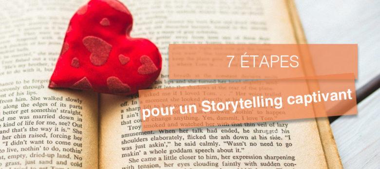les 7 etapes d'un storytelling captivant