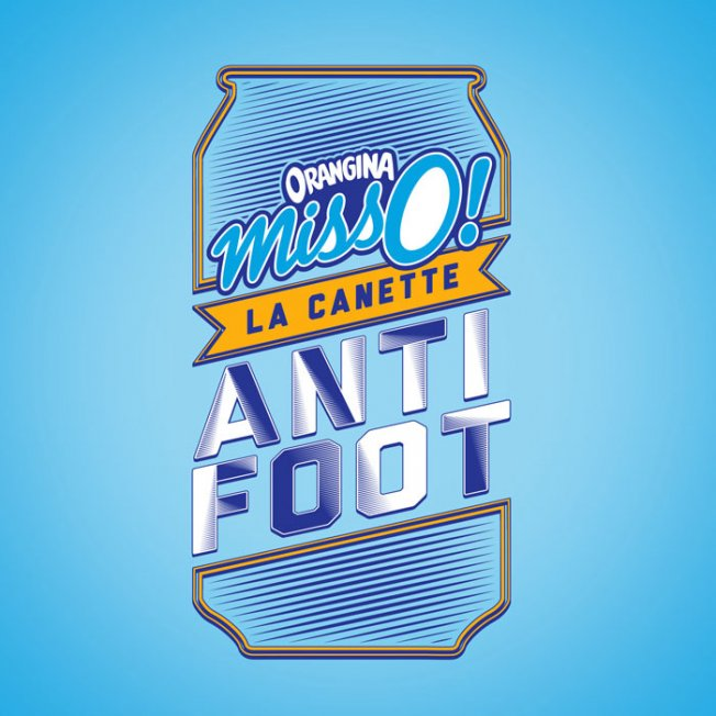 Buzz - Orangina lance la canette anti-foot