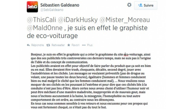 Communication sexiste - Ecovoiturage