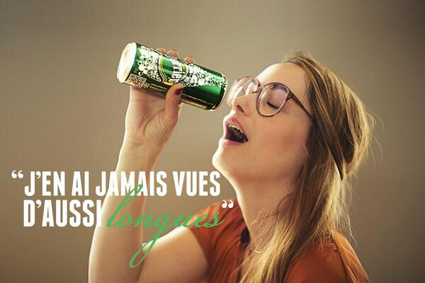 Communication sexiste - bad buzz Perrier