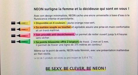 Communication sexiste - le stabilo pour femmes...