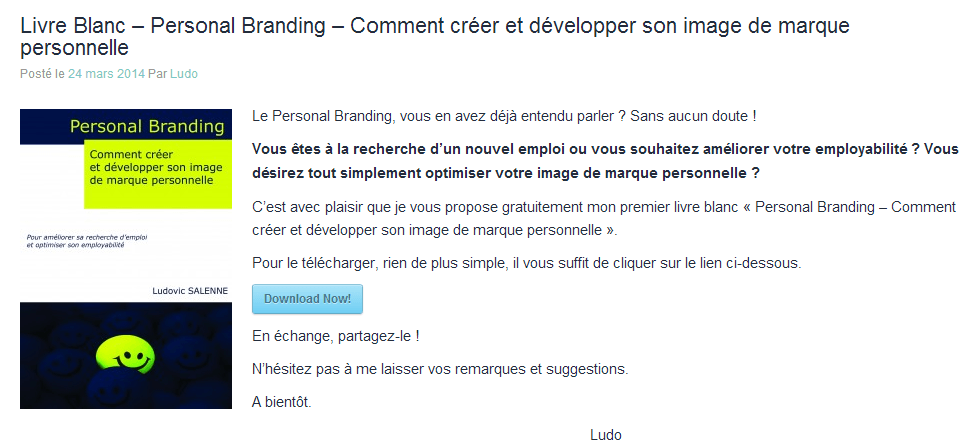 Le livre blanc dans l'Inbound Marketing