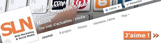 Le web marketing et la communication social media aussi sur Facebook