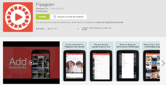Une présentation visuelle pour une application mobile bien référencée
