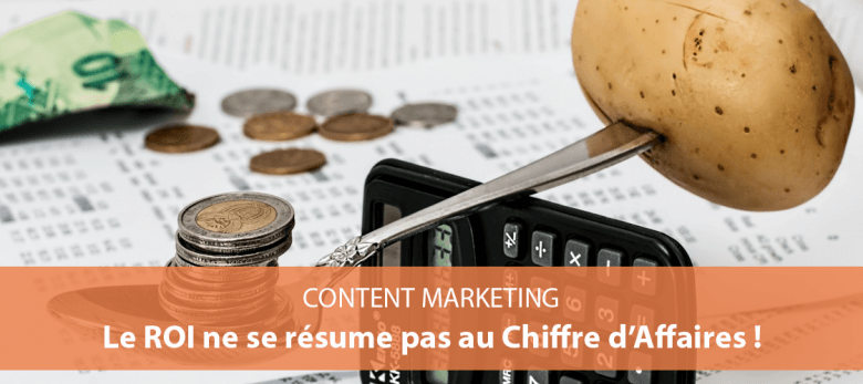 comment analyser son retour sur investissement - content marketing