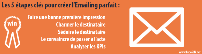 5 étapes clés pour créer son Emailing