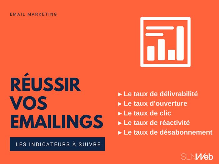 Créer un bon Emailing - Les bons indicateurs