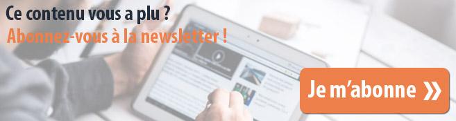 Inscrivez-vous à la newsletter web marketing et communication digitale