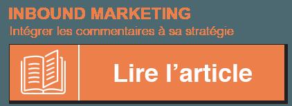 intégrer les commentaires à sa stratégie inbound marketing