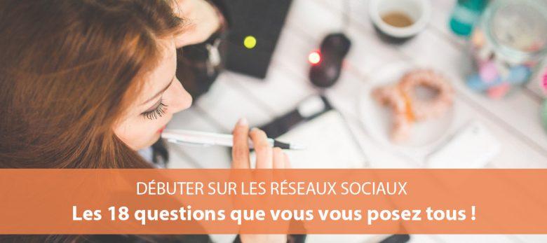 communiquer sur les réseaux sociaux - questions fréquentes