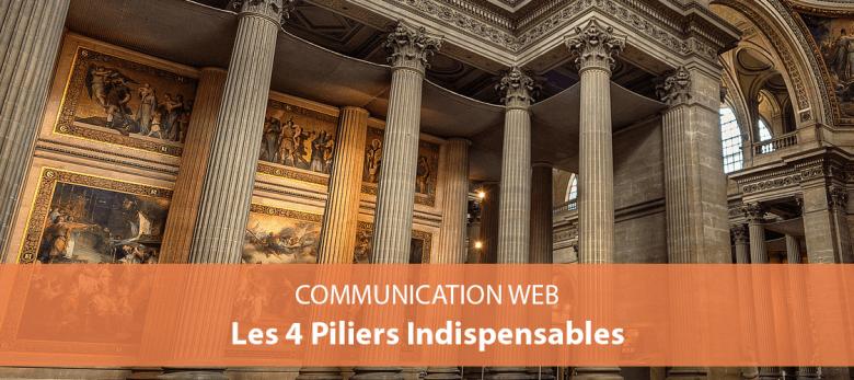 comment bien communiquer sur le web - 4 piliers