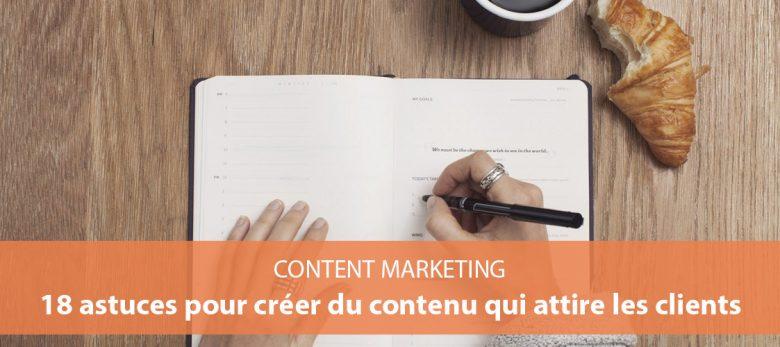 comment rédiger du contenu web qui attire les clients