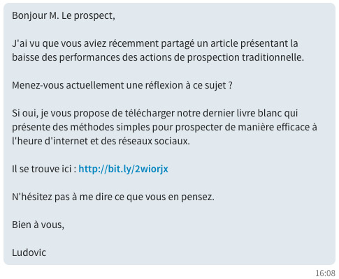 comment engager la conversation du linkedin