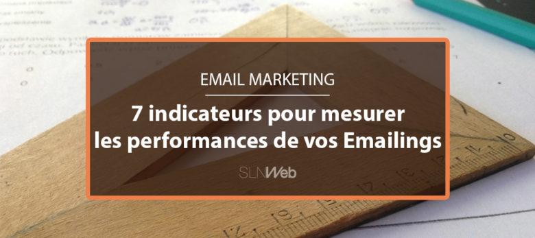 les indicateurs à suivre pour mesurer les performances de vos emailings