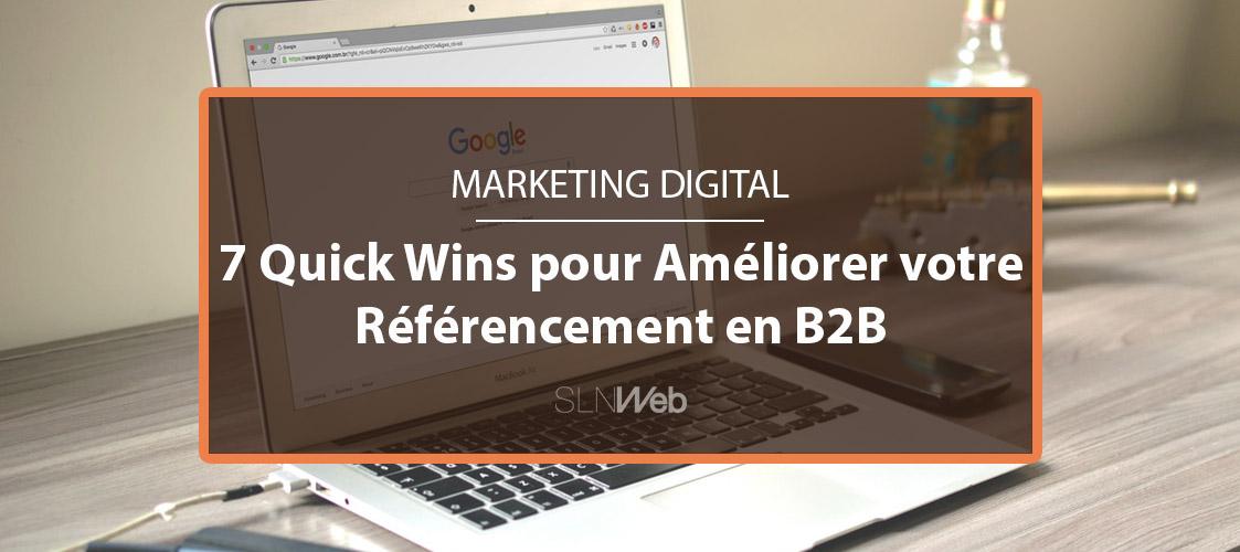 46a2a34c7dfe 7 Quick Wins pour améliorer le référencement de votre site web en ...