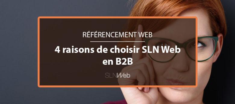 agence de referencement site web en B2B - SLN Web