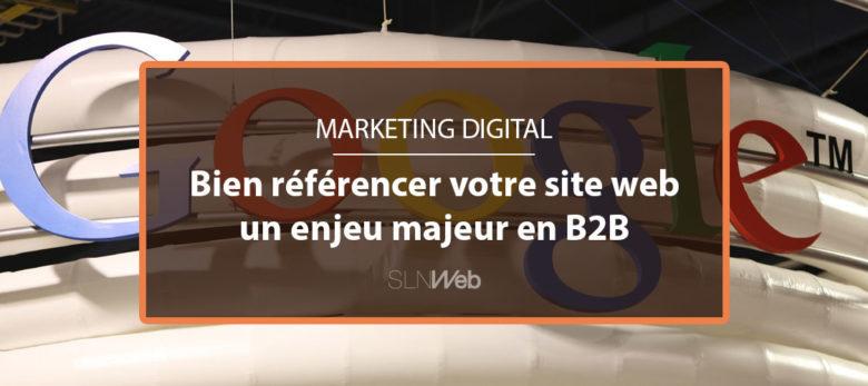 référencer son site web est un defi en B2B