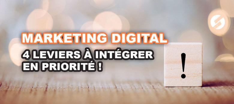 Quels sont les leviers du marketing digital ?