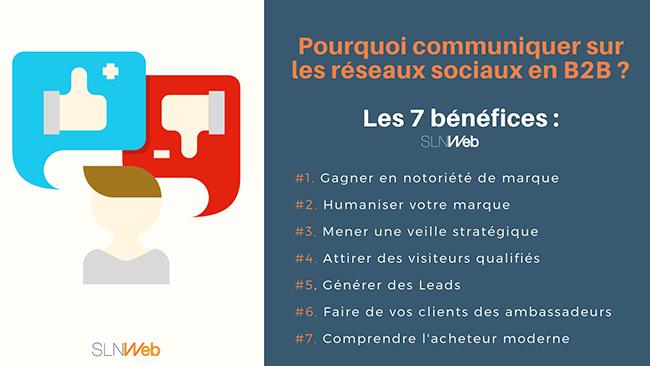 pourquoi communiquer sur les réseaux sociaux en B2B