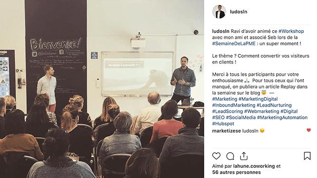 les hahstags en communication sur Instagram