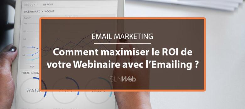 générer plus de ROI depuis votre webinaire avec Email Marketing