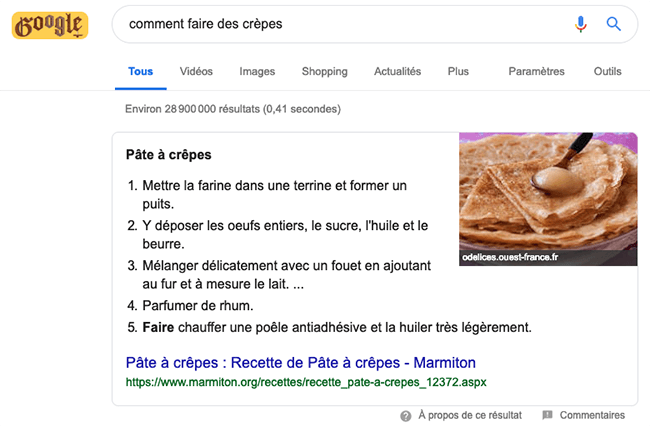 referencer son site internet en position 0 sur Google