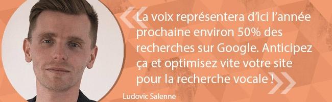 SEO - les astuces de Ludovic Salenne