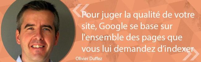 SEO - les astuces de Olivier Duffez