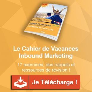telechargez le cahier de vacances inbound marketing