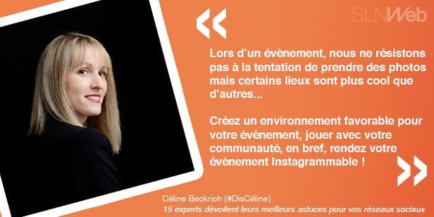les astuces de Céline pour bien communiquer sur les réseaux sociaux