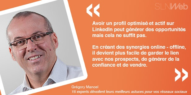gregory et ses astuces social selling