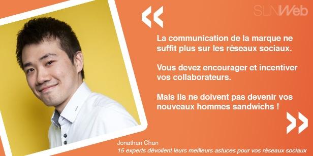 Les astuces de Jonathan pour bien communiquer sur les réseaux sociaux