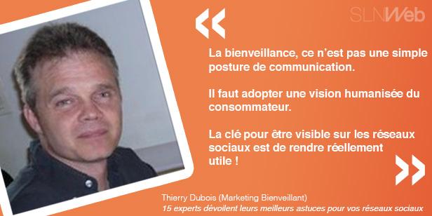 Astuces communication réseaux sociaux par Thierry