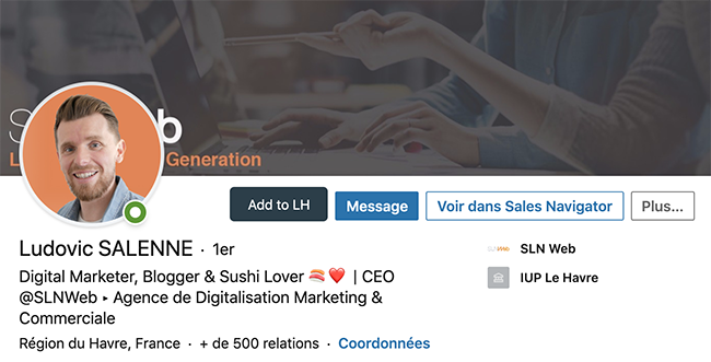 optimiser son profil linkedin pour le social selling
