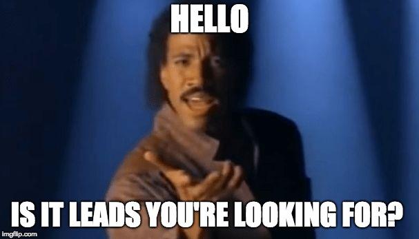 Lionel Richie génère des Leads