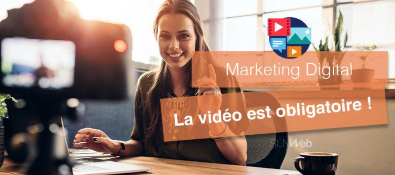 les raisons d'intégrer la vidéo à votre stratégie marketing digital