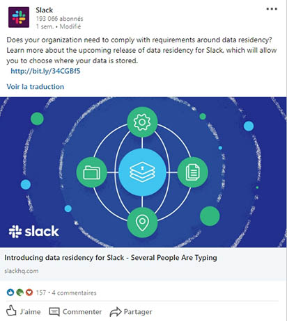 cas client communication linkedin B2B