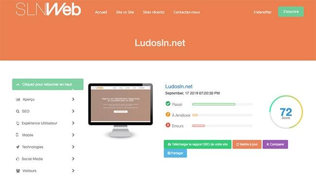 outil gratuit pour faire un audit seo de votre site web
