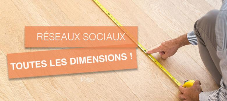 les dimensions images réseaux sociaux 2020