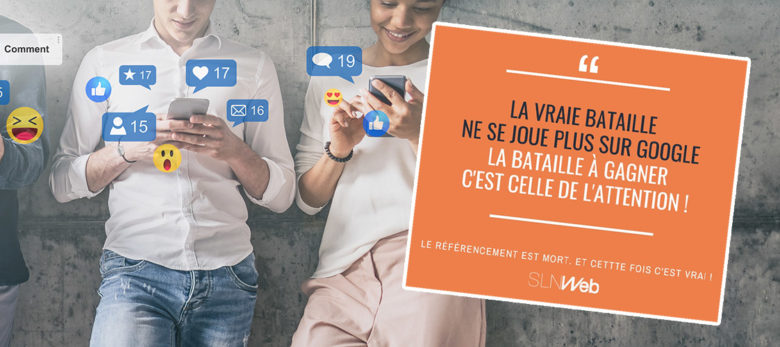 la bataille de l'attention ne se joue pas sur google