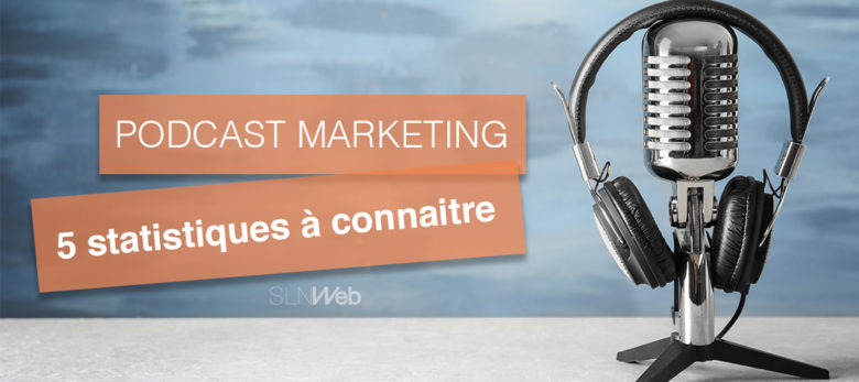 statistique podcast et marketing