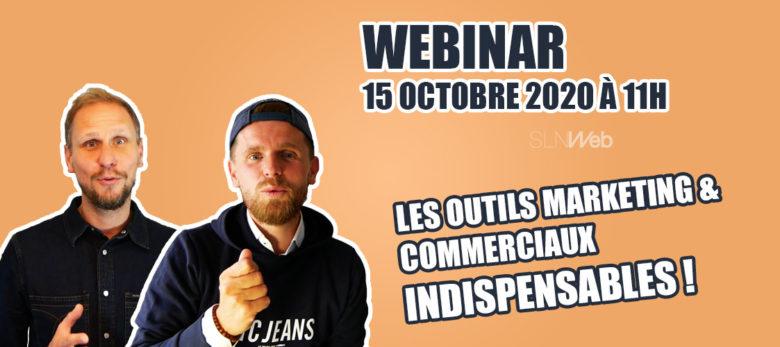 webinar les outils marketing et commerciaux