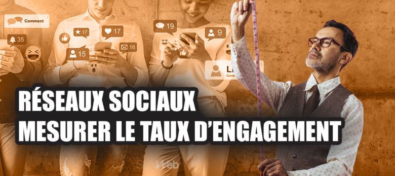 calculer le taux d'engagement sur les réseaux sociaux