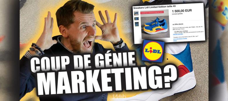 analyse stratégie marketing lidl sneakers