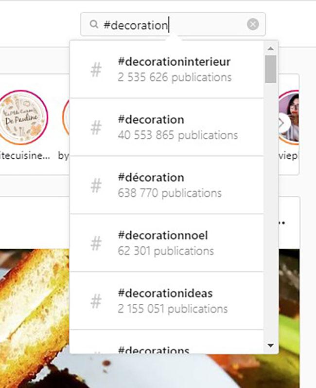 trouver des concurrents sur instagram