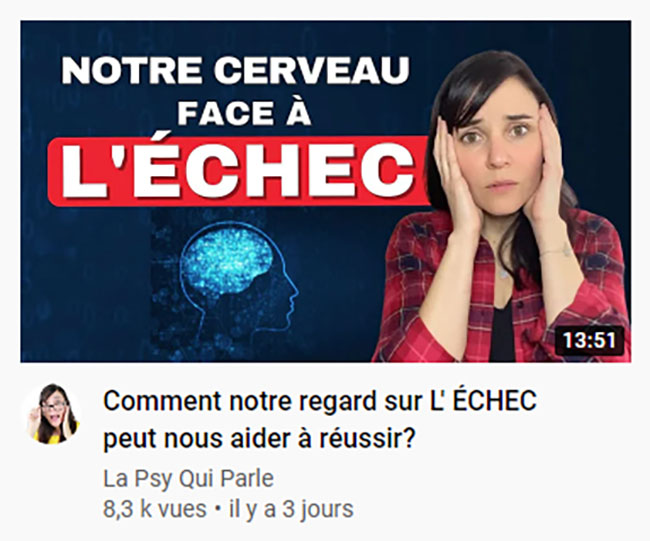 comment faire une bonne miniature youtube exemple