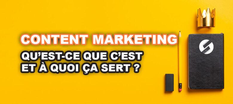 qu'est-ce que le content marketing définition