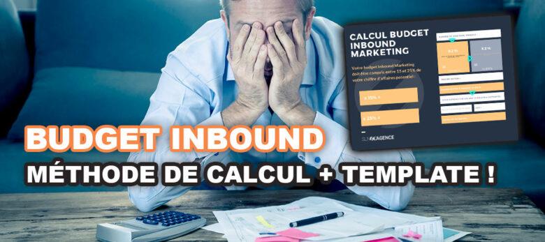 comment calculer un budget inbound marketing